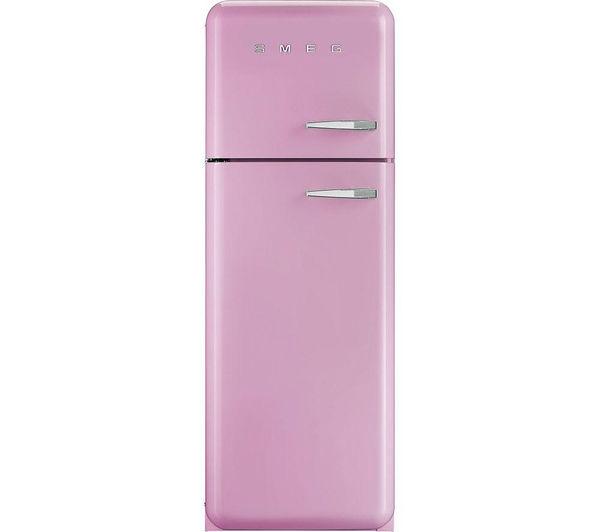 Smeg Fab30lfp Fridge Freezer Pink