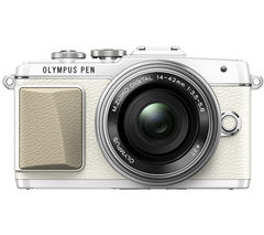OLYMPUS PEN E-PL7 Compact System Camera with 14-42 mm f/3.5-5.6 Zoom Lens