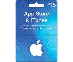 £15 iTunes Card