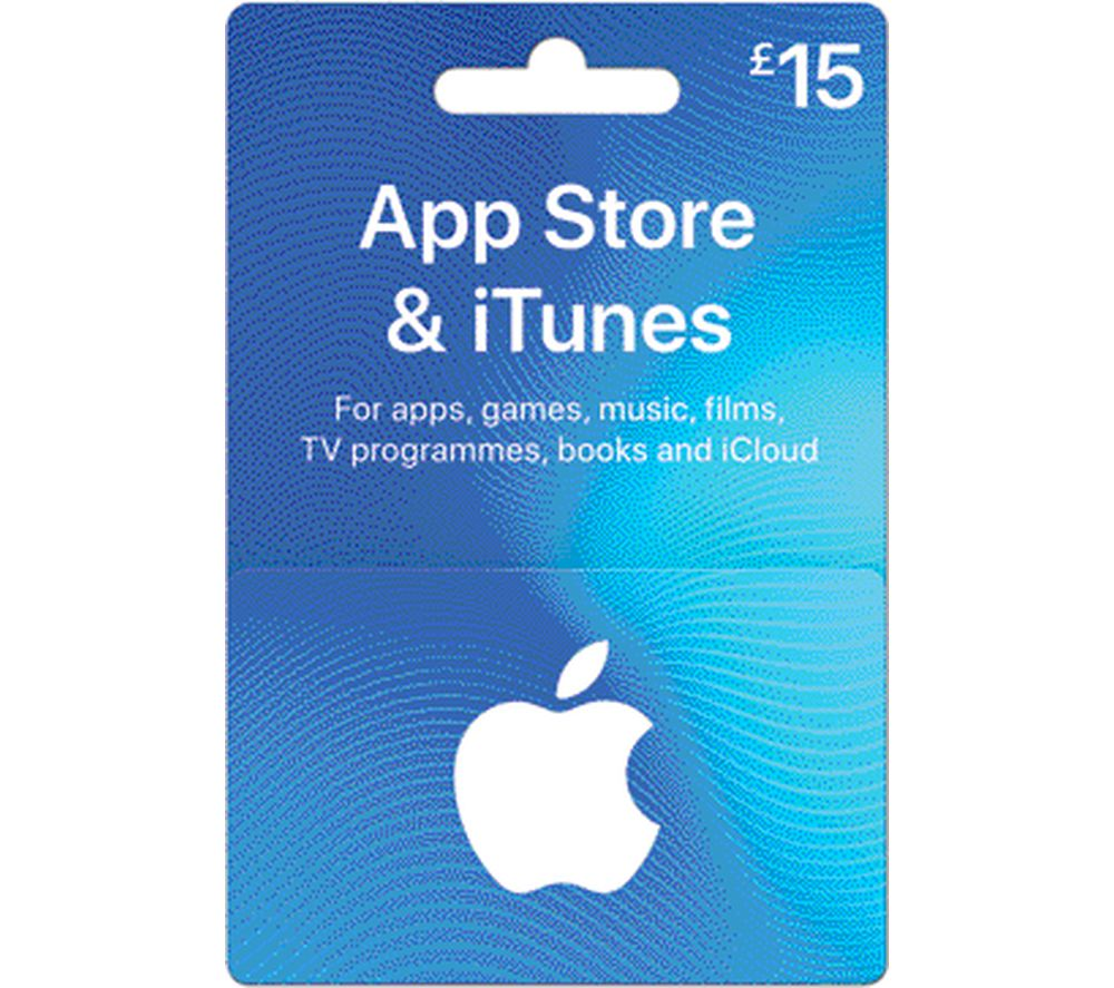 Buy Itunes 163 15 Itunes Card Free Delivery Currys