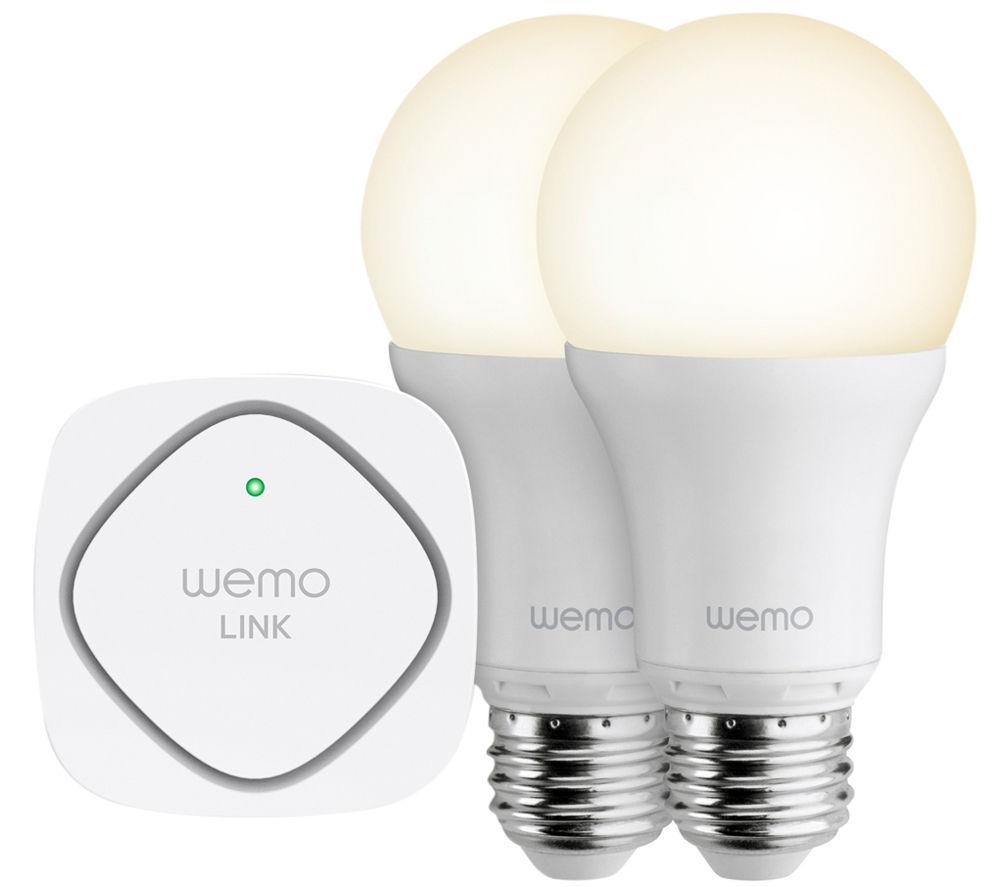 BELKIN F5Z0489UK WeMo Wi-Fi LED Lighting Starter Set