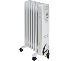 LOGIK L15OFR15 Oil-Filled Radiator