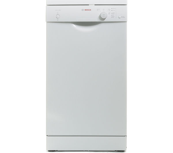 buy bosch sps40e22gb slimline dishwasher white free. Black Bedroom Furniture Sets. Home Design Ideas