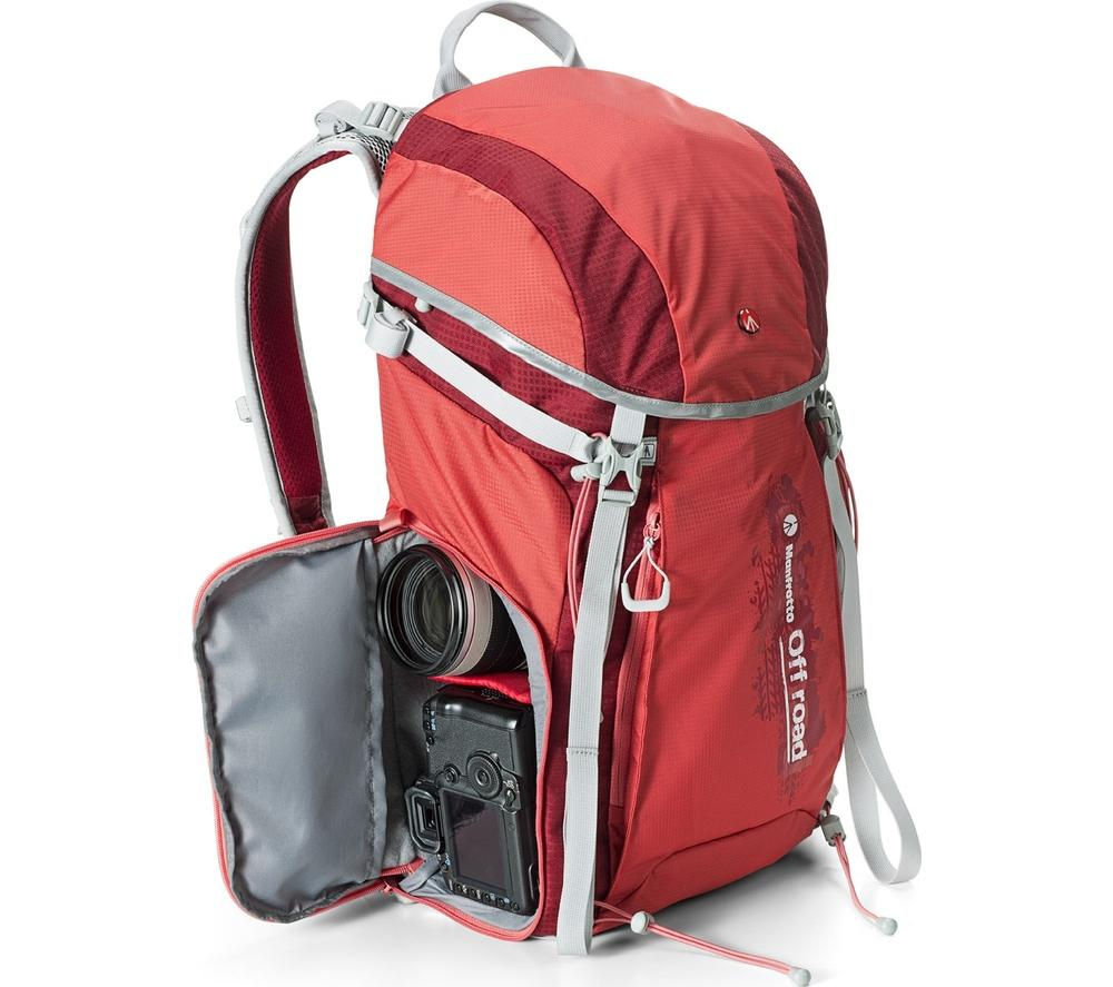 MANFROTTO MB OR-BP-30RD Off Road Hiker 30L DSLR Camera Backpack - Red