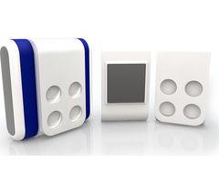 ION 5043 SnapCam Lite Clip Pack - White