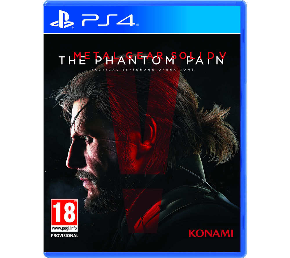 PLAYSTATION 4 Metal Gear Solid V: The Phantom Pain Day One Edition