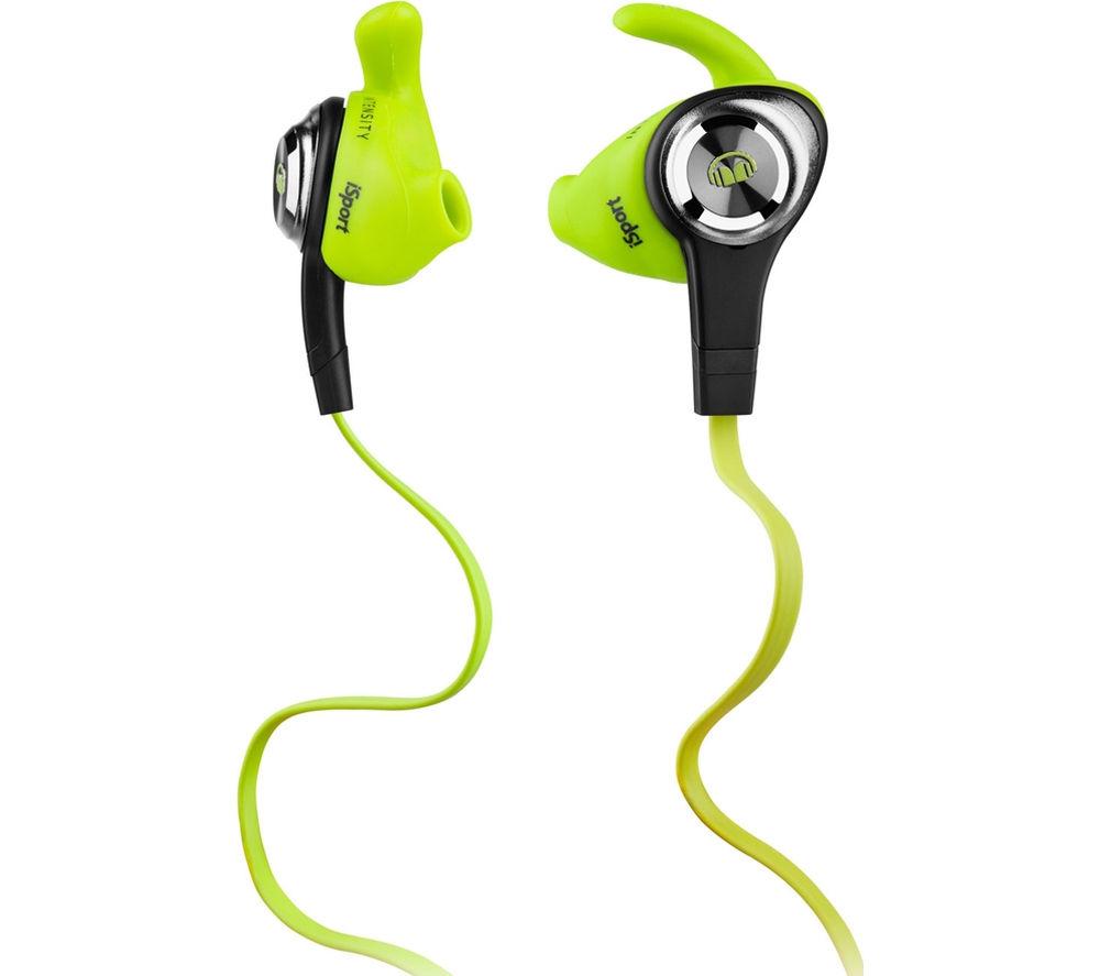 MONSTER iSport Intensity v2 Headphones - Green