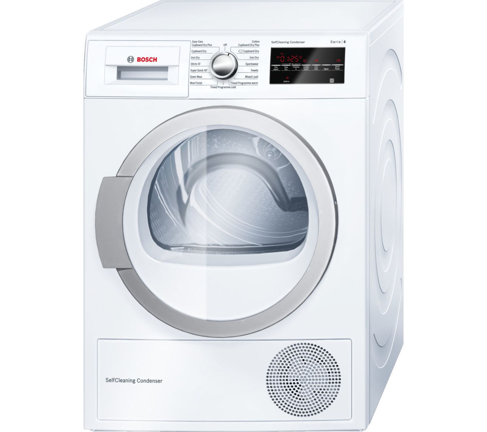 Component Tumble Dryer ~ Buy bosch wtw gb heat pump condenser tumble dryer