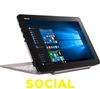"ASUS Transformer Book T101HA 10.1"" 2 in 1 - Pink"