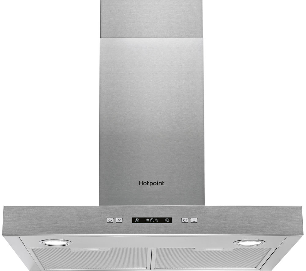 HOTPOINT  PHBS6.7FLLIX Chimney Cooker Hood  Stainless Steel Stainless Steel