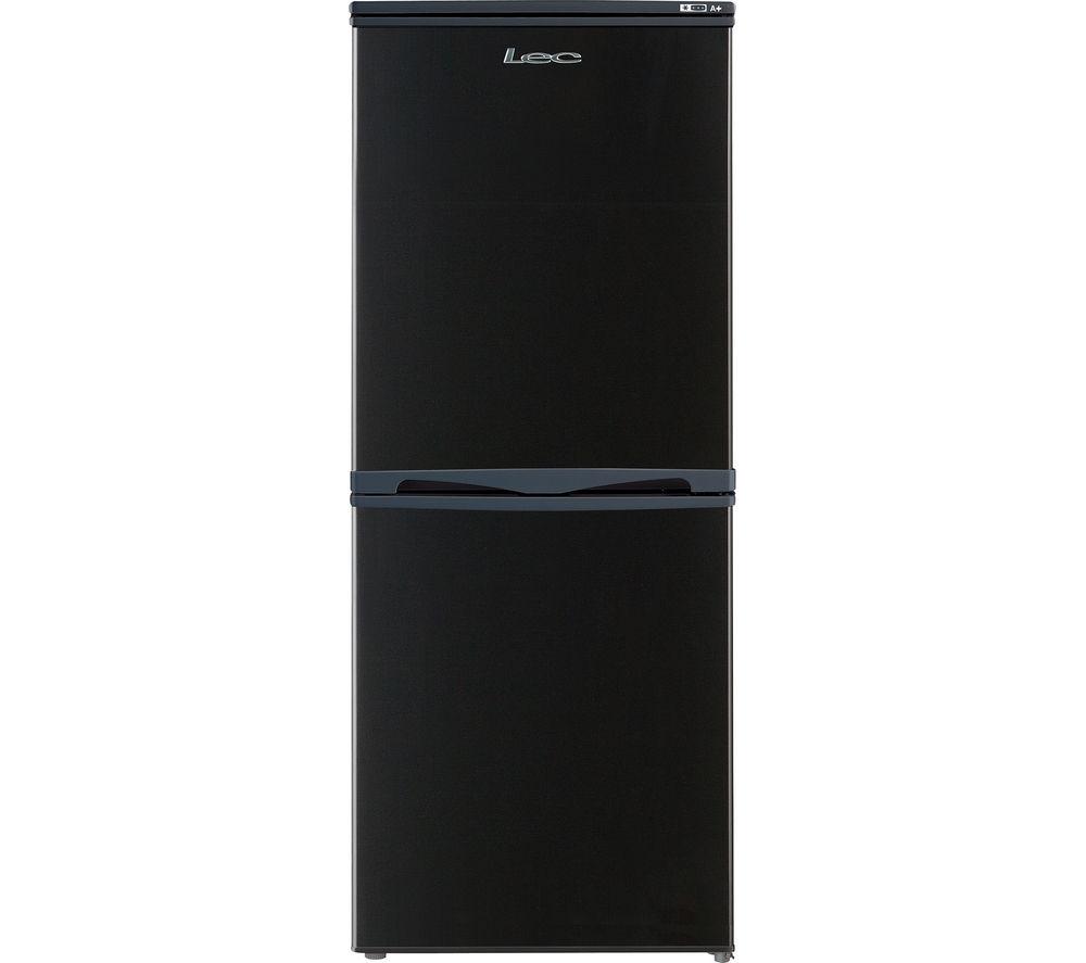 LEC  T5039B Fridge Freezer  Black Black