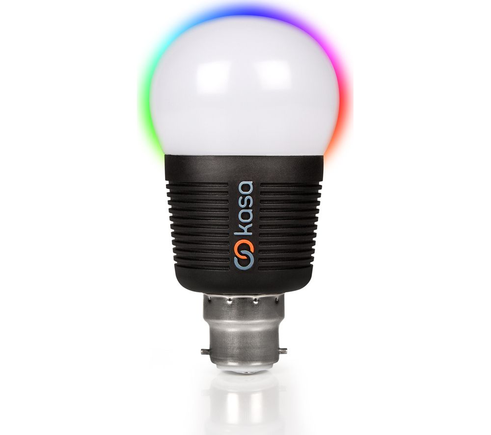 Buy veho kasa bluetooth smart led light bulb b22 free delivery currys Smart light bulbs