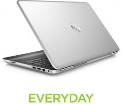 "HP Pavilion Full HD 15.6"" Laptop with the latest Intel® Core™ i7 Processor - Silver"