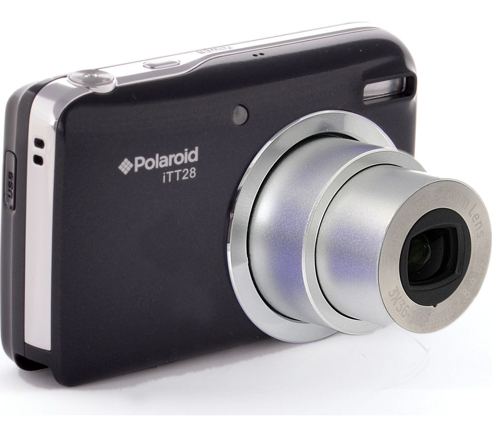 POLAROID ITT28-BLK-UK Superzoom Compact Camera - Black