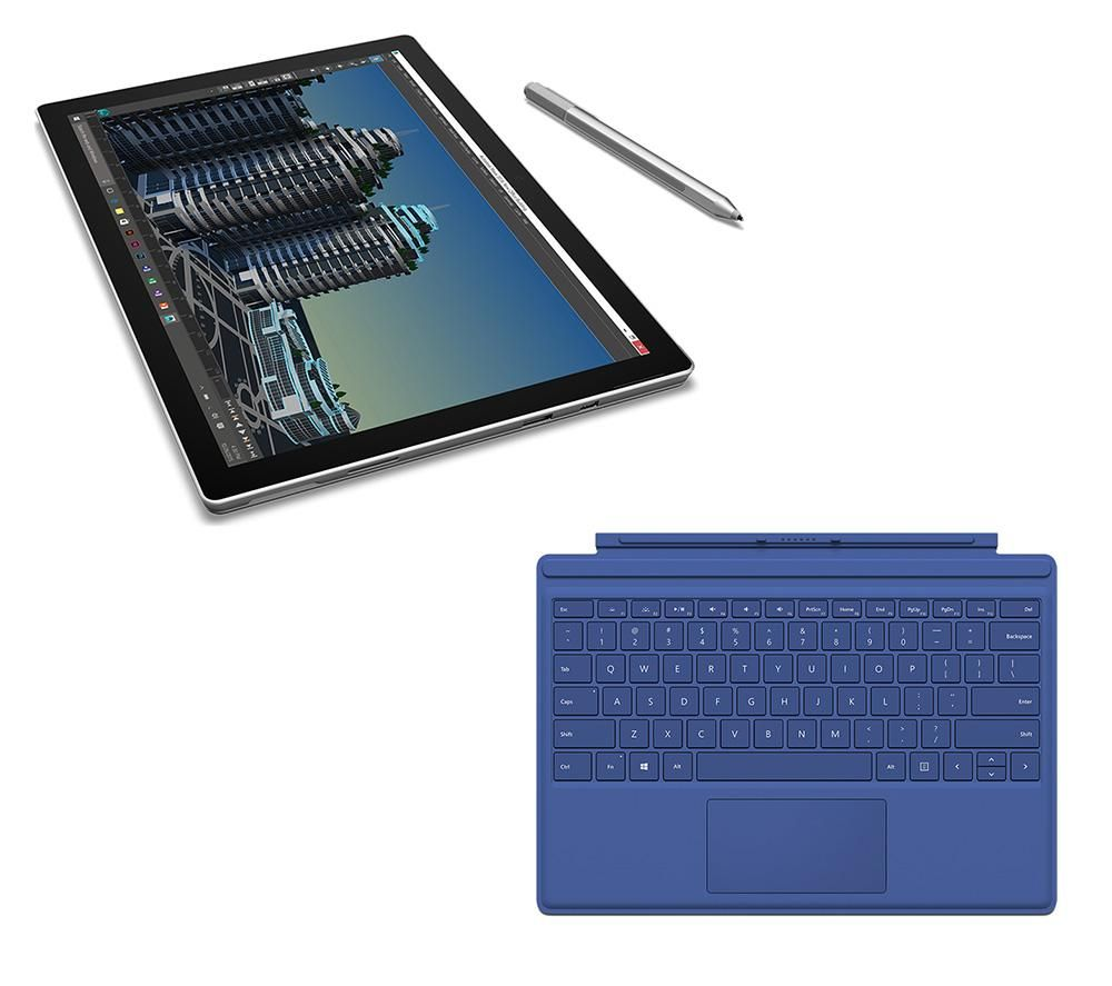 MICROSOFT Surface Pro 4 (1 TB) & Typecover Bundle