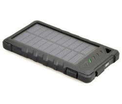 PORT DESIGNS 900114 Solar Portable Power Bank - Black