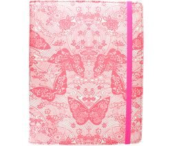 "ACCESSORIZE Neon Butterfly 10"" Tablet Case - Pink"