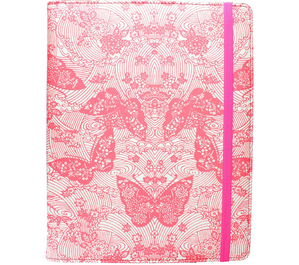 """Image of ACCESSORIZE Neon Butterfly 10"""" Tablet Case - Pink, Pink"""