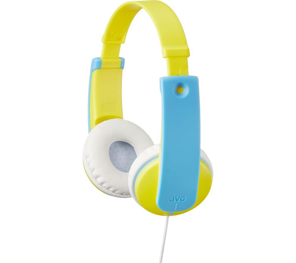 JVC HA-KD7-Y-E Kids Headphones - Yellow