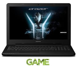 "MEDION P6661 15.6"" Gaming Laptop - Black"