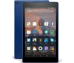 AMAZON Fire HD 8 Tablet with Alexa (2017) - 32 GB, Marine Blue