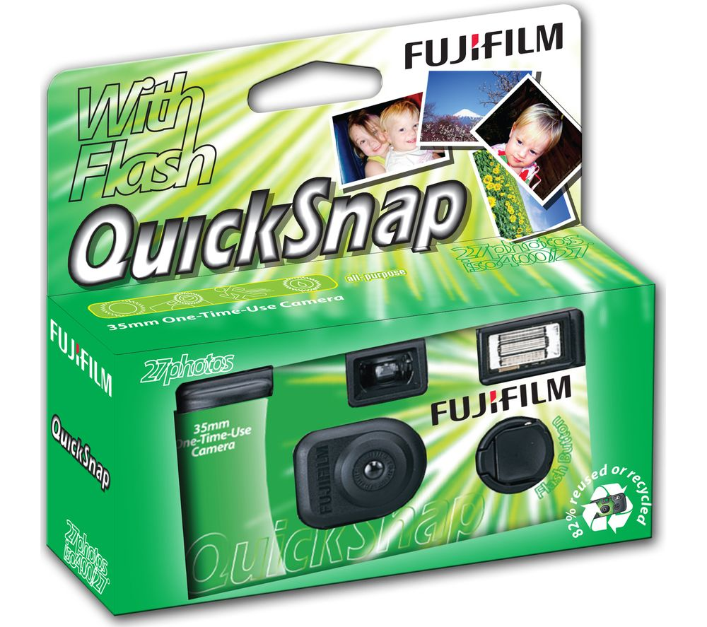 Buy FUJIFILM QuickSnap V400 Single Use Camera