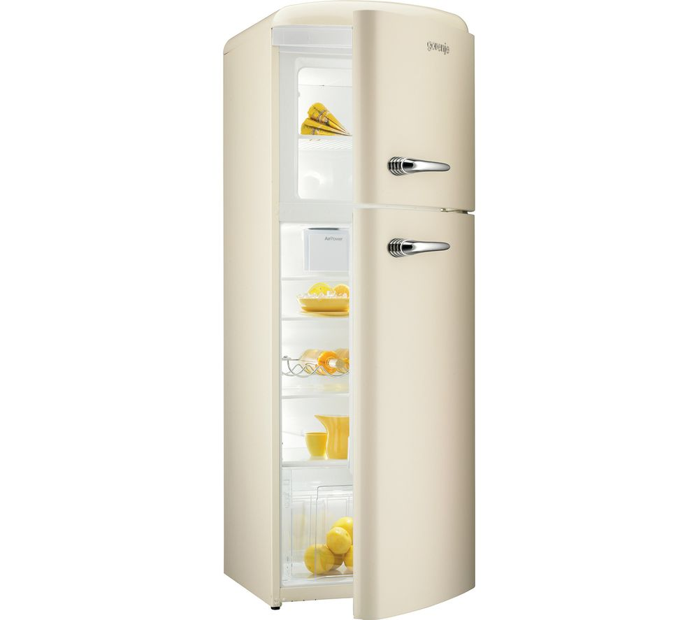 GORENJE  RF60309OC Fridge Freezer  Cream Cream