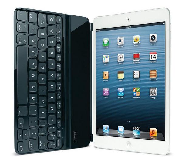 logitech ultrathin wireless ipad mini keyboard cover black deals pc world. Black Bedroom Furniture Sets. Home Design Ideas