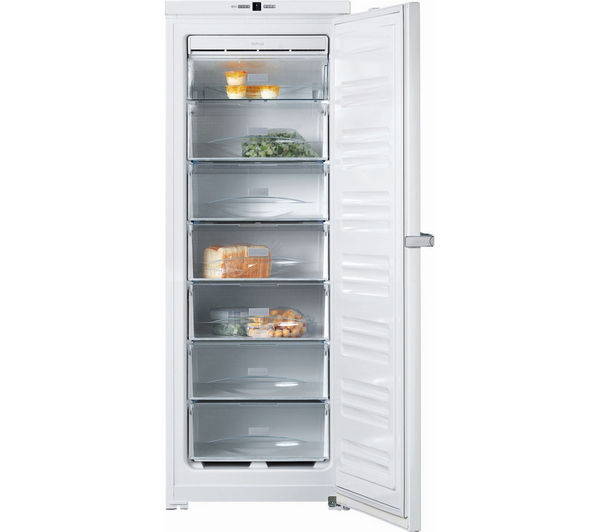 Buy miele fn12621s tall freezer white free delivery currys - Congelateur armoire 120 litres ...