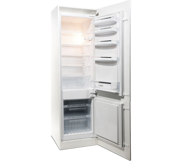 Buy bosch kiv38x22gb integrated 70 30 fridge freezer - Integrated freezer ...