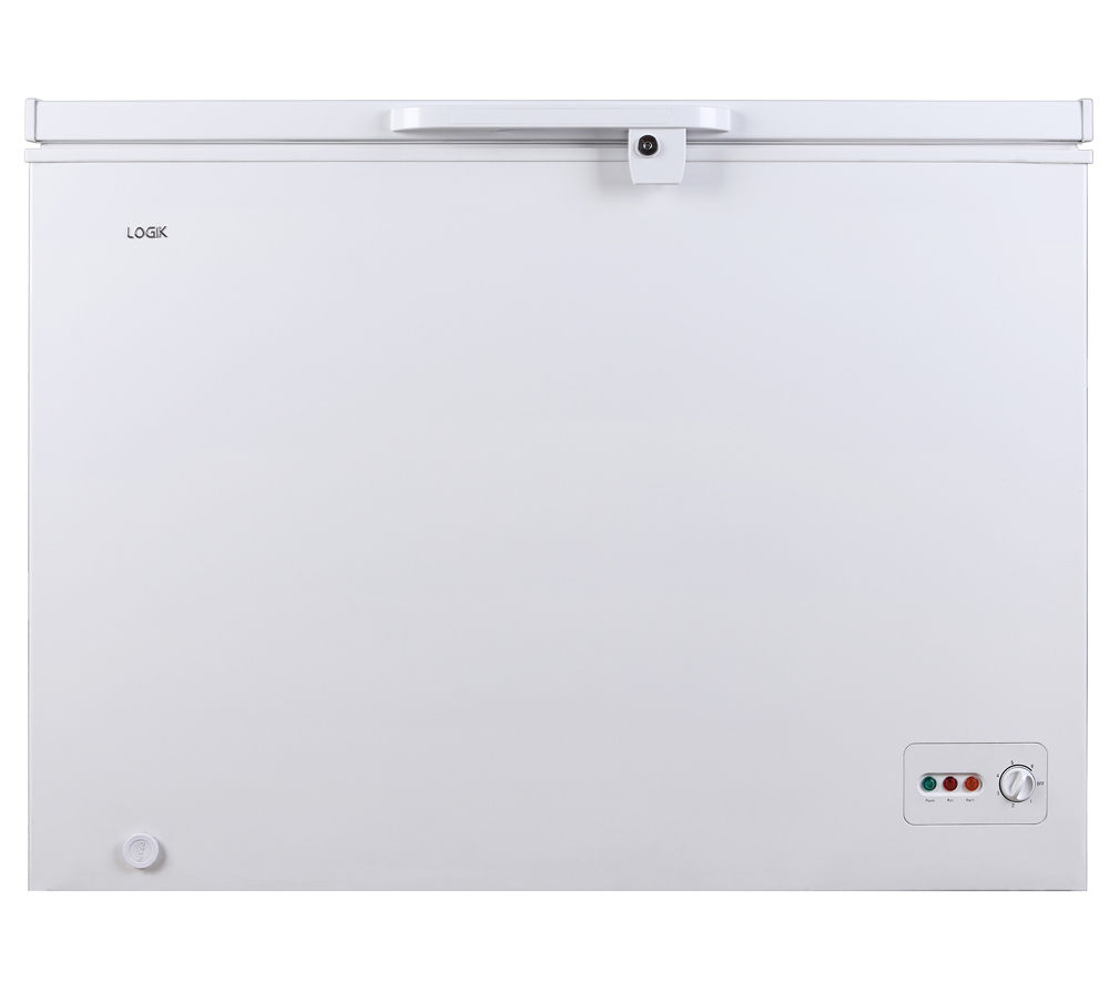 LOGIK  L300CFW14 Chest Freezer  White White