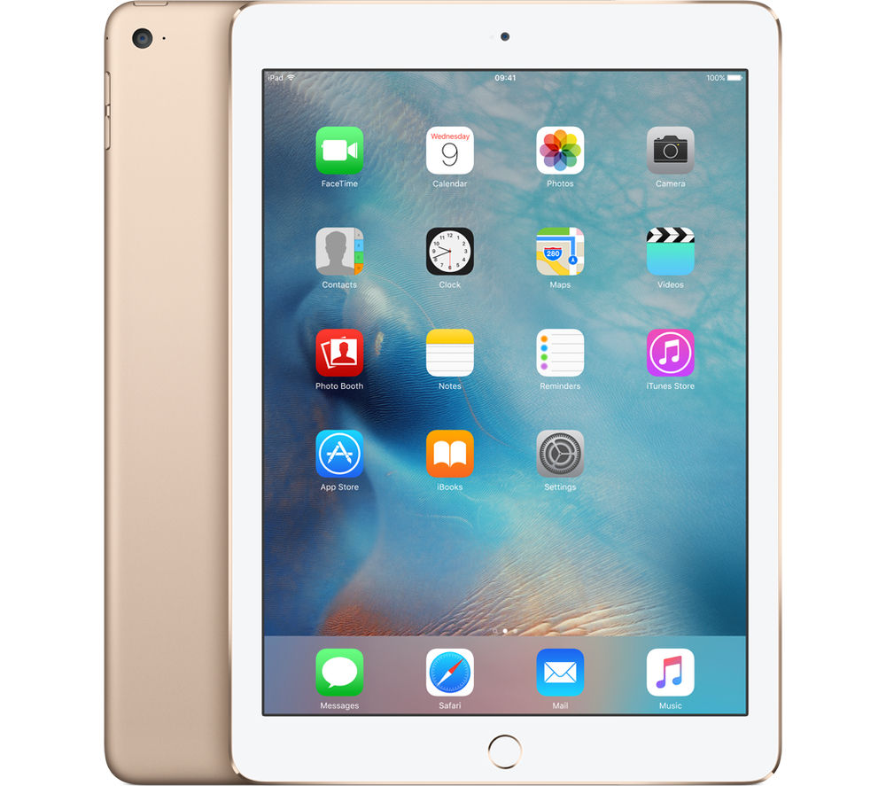 Image of Apple iPad Air 2 - 64 GB, Gold, Gold