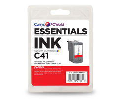 ESSENTIALS C41 Tri-colour Canon Ink Cartridge