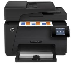 HP LaserJet Pro M177fw All-in-One Wireless Laser Printer with Fax