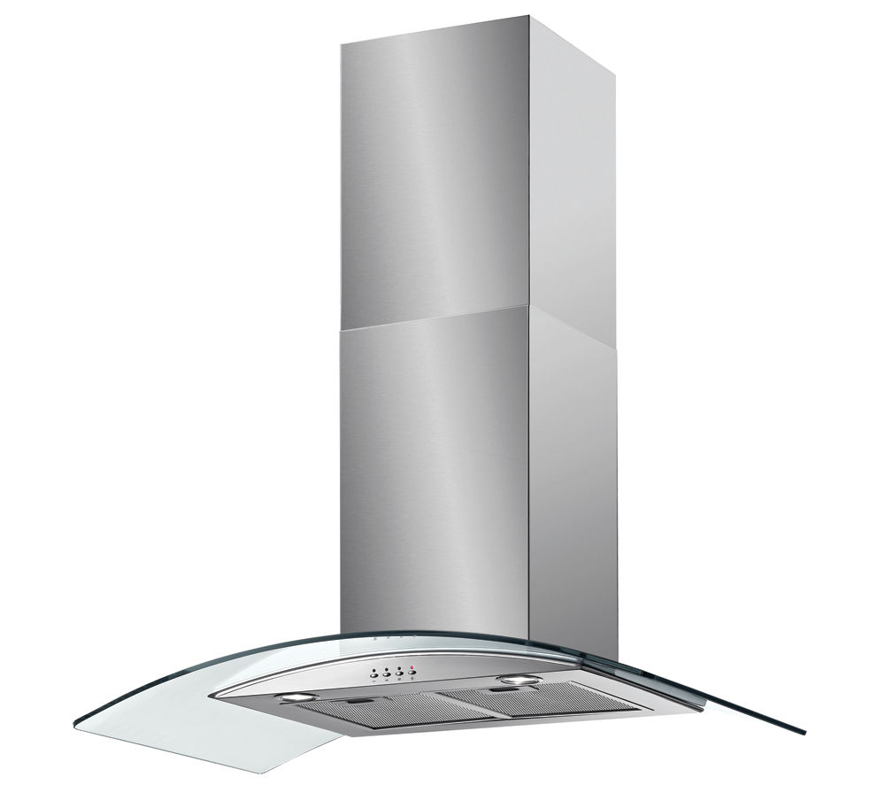 Cooker Hoods Stainless Steel ~ Baumatic bt gl chimney cooker hood stainless steel