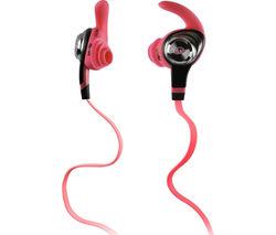 MONSTER iSport Intensity Headphones - Pink