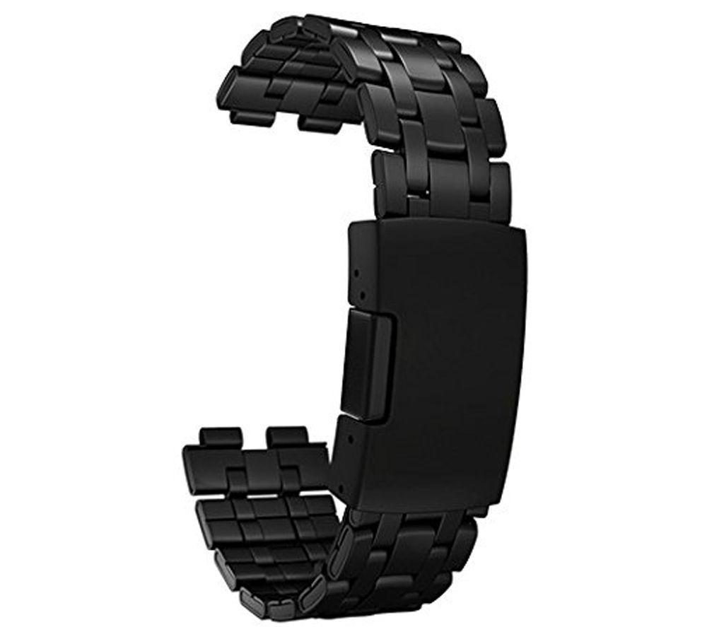 PEBBLE Smart Watch Stainless Steel Strap - Matte Black