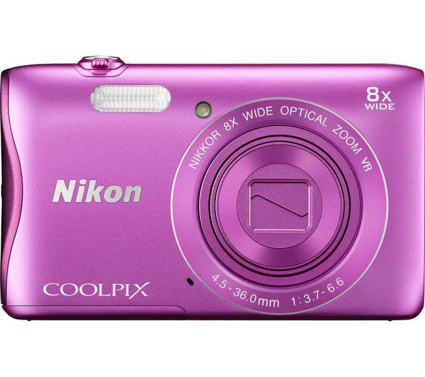 Buy NIKON COOLP... Pink Nikon Camera S3700