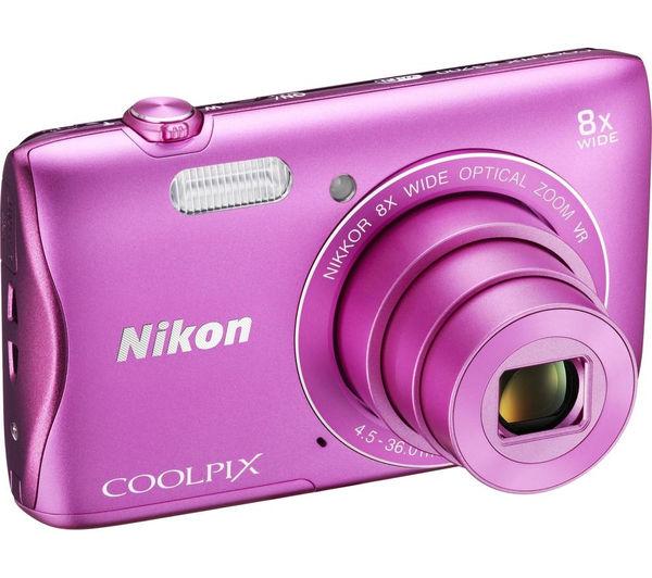 Protect your NI... Pink Nikon Camera S3700