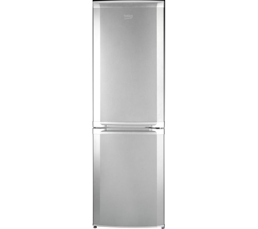 BEKO CS5713APS Fridge Freezer - Matte Silver