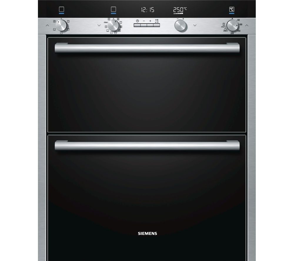 SIEMENS HB55NB550B Electric Double Oven - Stainless Steel