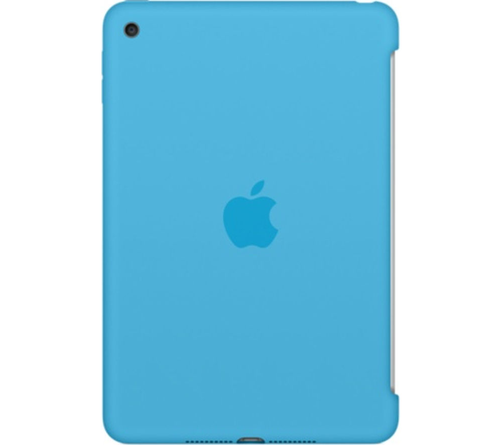 APPLE Silicone iPad Mini 4 Cover - Blue