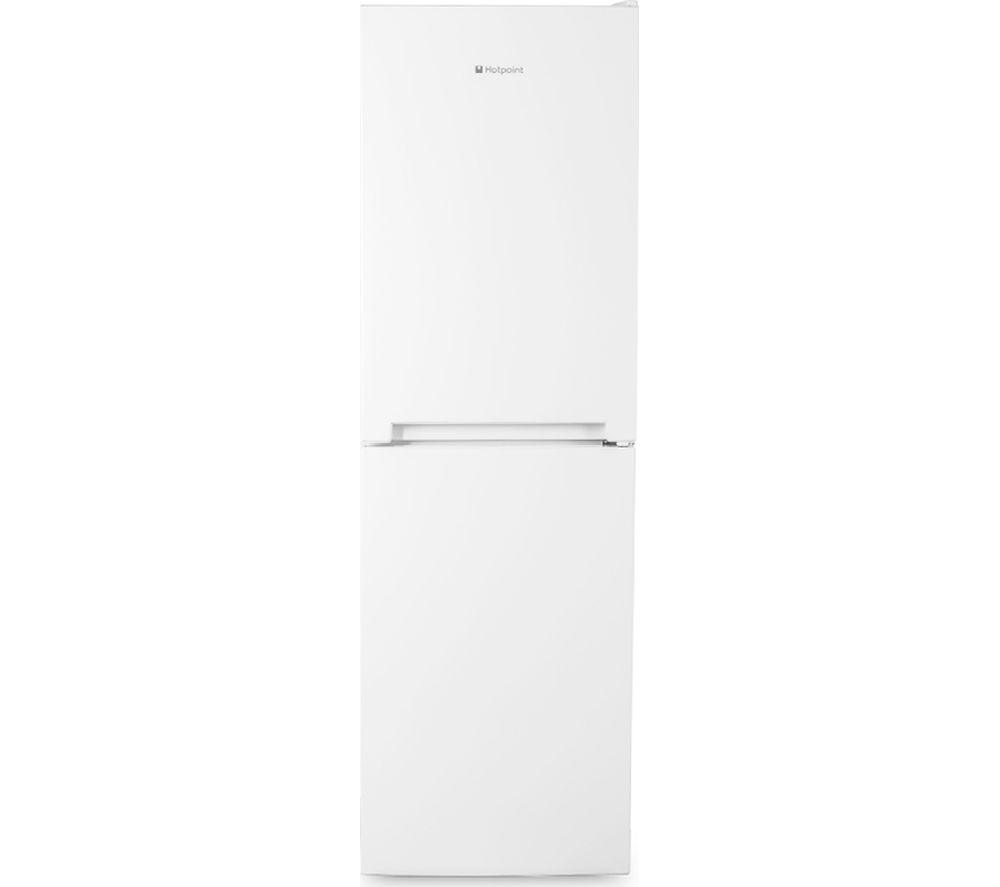 HOTPOINT  SMART SMX85T1UW Fridge Freezer  White White