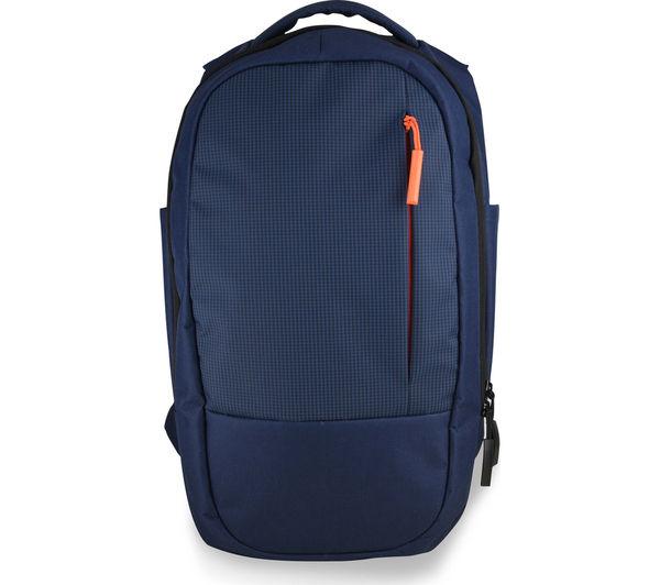 """Image of GOJI GBLBP16 15.6"""" Laptop Backpack - Blue & Orange"""