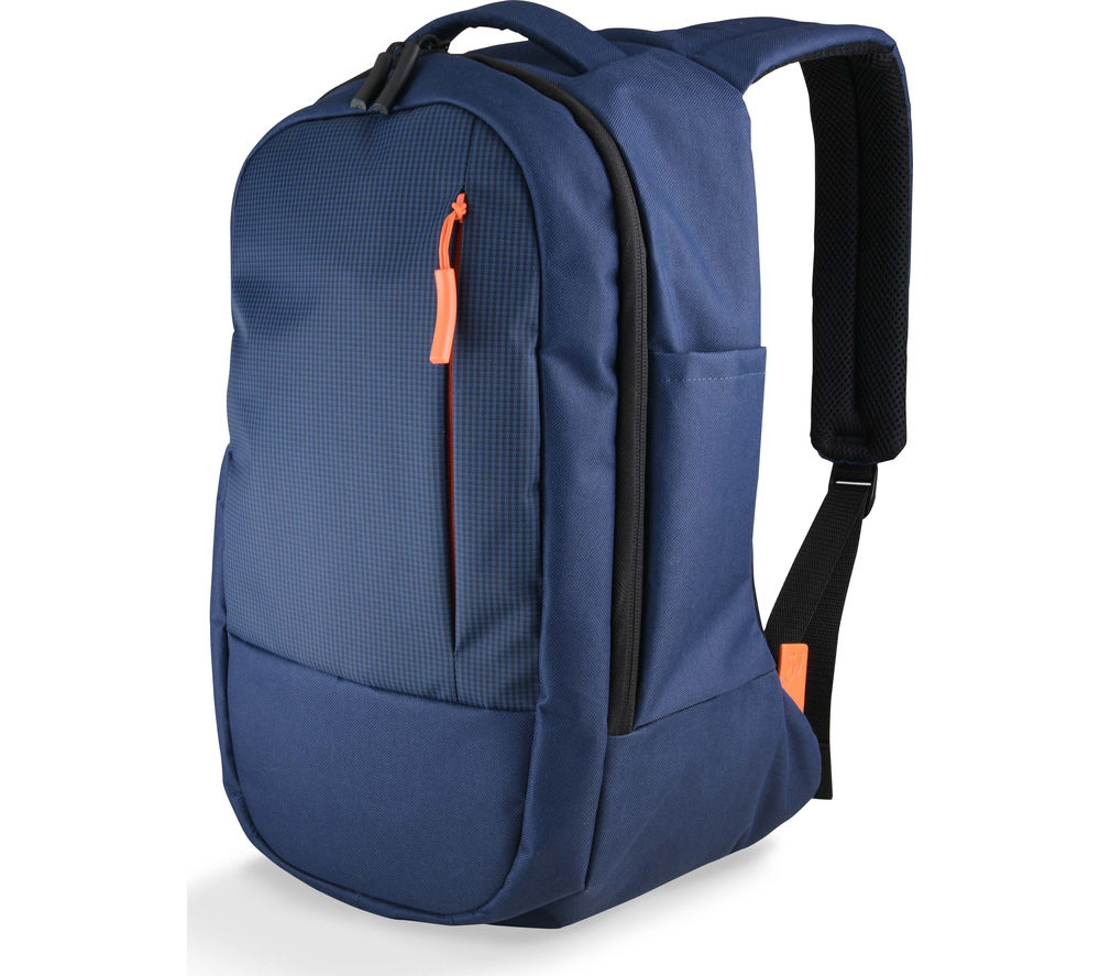 "Goji  Gblbp16 15.6"" Laptop Backpack - Blue & Orange, Blue"