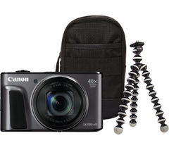 CANON PowerShot SX720 HS Superzoom Compact Camera - Black