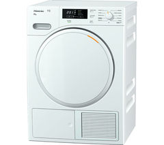 MIELE TMB540 Heat Pump Tumble Dryer - Lotus White