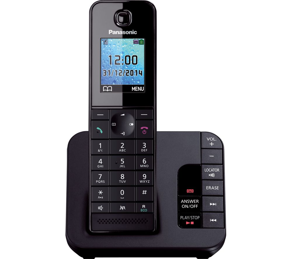 PANASONIC PANASONIC  KX-TG8181EB Cordless Phone with Answering Machine