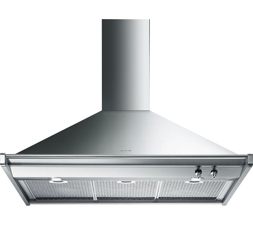 SMEG KD100XE Chimney Cooker Hood - Stainless Steel