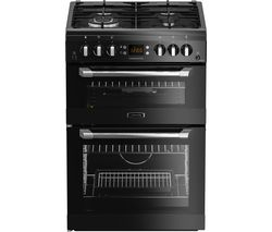 LEISURE CS60GAK 60 cm Gas Cooker - Black